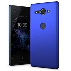 Funda Dura Plastico Rigida Carcasa Mate M01 para Sony Xperia XZ2 Compact Azul