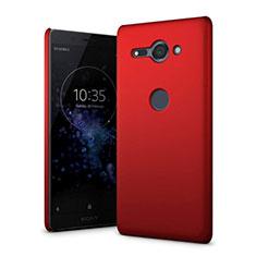 Funda Dura Plastico Rigida Carcasa Mate M01 para Sony Xperia XZ2 Compact Rojo
