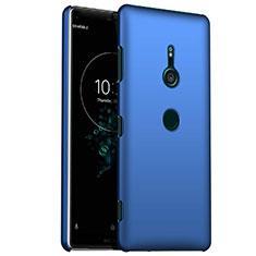 Funda Dura Plastico Rigida Carcasa Mate M01 para Sony Xperia XZ3 Azul