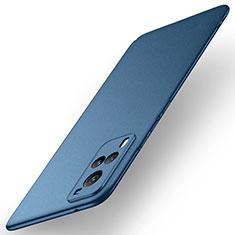 Funda Dura Plastico Rigida Carcasa Mate M01 para Vivo X60 5G Azul