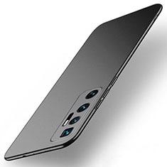 Funda Dura Plastico Rigida Carcasa Mate M01 para Xiaomi Mi 10 Ultra Negro
