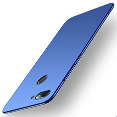 Funda Dura Plastico Rigida Carcasa Mate M01 para Xiaomi Mi 8 Lite Azul