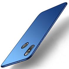 Funda Dura Plastico Rigida Carcasa Mate M01 para Xiaomi Mi A2 Azul