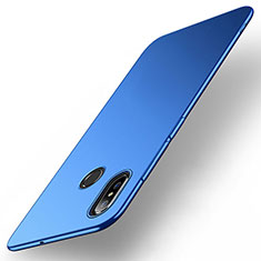Funda Dura Plastico Rigida Carcasa Mate M01 para Xiaomi Mi Max 3 Azul