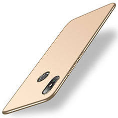 Funda Dura Plastico Rigida Carcasa Mate M01 para Xiaomi Mi Mix 2S Oro