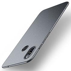 Funda Dura Plastico Rigida Carcasa Mate M01 para Xiaomi Mi Mix 3 Gris