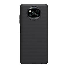 Funda Dura Plastico Rigida Carcasa Mate M01 para Xiaomi Poco X3 NFC Negro