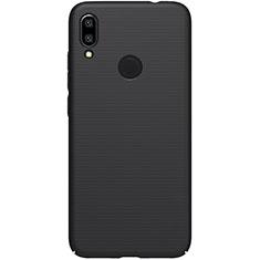 Funda Dura Plastico Rigida Carcasa Mate M01 para Xiaomi Redmi 7 Negro
