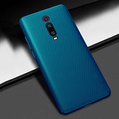 Funda Dura Plastico Rigida Carcasa Mate M01 para Xiaomi Redmi K20 Azul