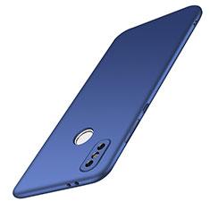 Funda Dura Plastico Rigida Carcasa Mate M01 para Xiaomi Redmi Note 5 AI Dual Camera Azul