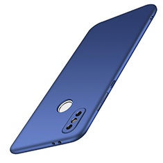 Funda Dura Plastico Rigida Carcasa Mate M01 para Xiaomi Redmi Note 5 Azul