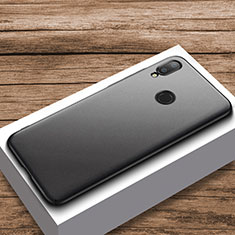 Funda Dura Plastico Rigida Carcasa Mate M01 para Xiaomi Redmi Note 7 Negro