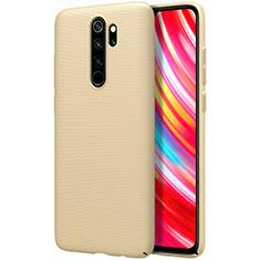 Funda Dura Plastico Rigida Carcasa Mate M01 para Xiaomi Redmi Note 8 Pro Oro