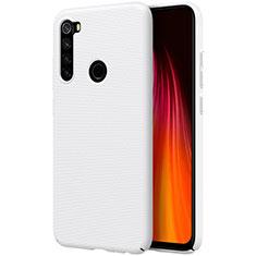 Funda Dura Plastico Rigida Carcasa Mate M01 para Xiaomi Redmi Note 8T Blanco