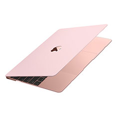 Funda Dura Plastico Rigida Carcasa Mate M02 para Apple MacBook Air 13 pulgadas (2020) Rosa