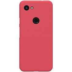 Funda Dura Plastico Rigida Carcasa Mate M02 para Google Pixel 3a XL Rojo
