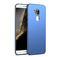 Funda Dura Plastico Rigida Carcasa Mate M02 para Huawei G9 Plus Azul