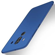 Funda Dura Plastico Rigida Carcasa Mate M02 para Huawei Mate 10 Pro Azul