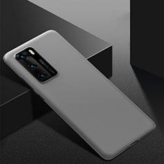 Funda Dura Plastico Rigida Carcasa Mate M02 para Huawei P40 Gris