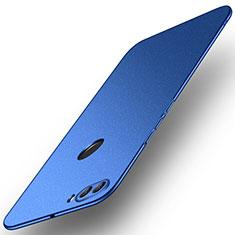 Funda Dura Plastico Rigida Carcasa Mate M02 para Huawei Y9 (2018) Azul
