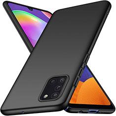 Funda Dura Plastico Rigida Carcasa Mate M02 para Samsung Galaxy A31 Negro