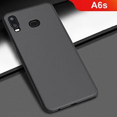 Funda Dura Plastico Rigida Carcasa Mate M02 para Samsung Galaxy A6s Negro