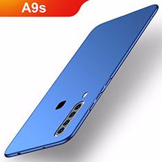 Funda Dura Plastico Rigida Carcasa Mate M02 para Samsung Galaxy A9s Azul