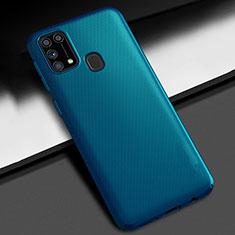 Funda Dura Plastico Rigida Carcasa Mate M02 para Samsung Galaxy M21s Azul