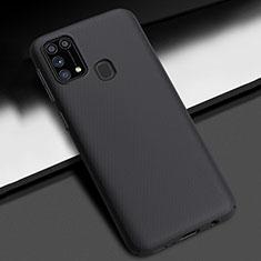 Funda Dura Plastico Rigida Carcasa Mate M02 para Samsung Galaxy M21s Negro