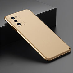 Funda Dura Plastico Rigida Carcasa Mate M02 para Samsung Galaxy Note 20 5G Oro