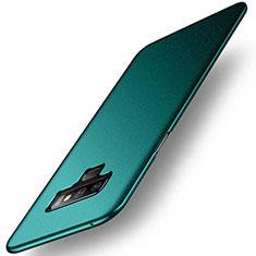 Funda Dura Plastico Rigida Carcasa Mate M02 para Samsung Galaxy Note 9 Verde