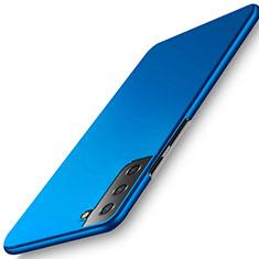 Funda Dura Plastico Rigida Carcasa Mate M02 para Samsung Galaxy S21 5G Azul