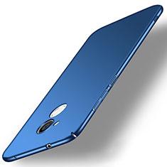 Funda Dura Plastico Rigida Carcasa Mate M02 para Sony Xperia L2 Azul
