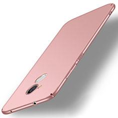 Funda Dura Plastico Rigida Carcasa Mate M02 para Sony Xperia L2 Oro Rosa