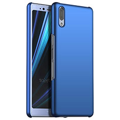 Funda Dura Plastico Rigida Carcasa Mate M02 para Sony Xperia L3 Azul