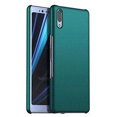 Funda Dura Plastico Rigida Carcasa Mate M02 para Sony Xperia L3 Verde