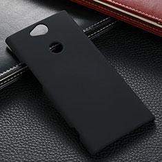 Funda Dura Plastico Rigida Carcasa Mate M02 para Sony Xperia XA2 Ultra Negro