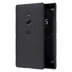 Funda Dura Plastico Rigida Carcasa Mate M02 para Sony Xperia XZ2 Negro