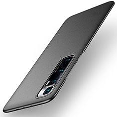 Funda Dura Plastico Rigida Carcasa Mate M02 para Xiaomi Mi 10 Ultra Negro