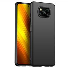 Funda Dura Plastico Rigida Carcasa Mate M02 para Xiaomi Poco X3 NFC Negro