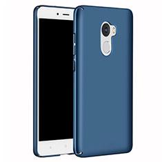 Funda Dura Plastico Rigida Carcasa Mate M02 para Xiaomi Redmi 4 Standard Edition Azul