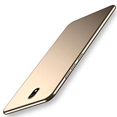 Funda Dura Plastico Rigida Carcasa Mate M02 para Xiaomi Redmi 8A Oro