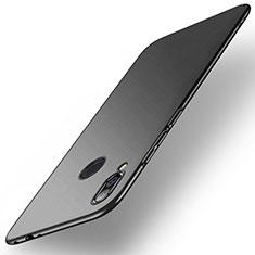 Funda Dura Plastico Rigida Carcasa Mate M02 para Xiaomi Redmi Note 7 Negro