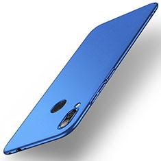 Funda Dura Plastico Rigida Carcasa Mate M02 para Xiaomi Redmi Note 7 Pro Azul