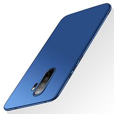 Funda Dura Plastico Rigida Carcasa Mate M02 para Xiaomi Redmi Note 8 Pro Azul