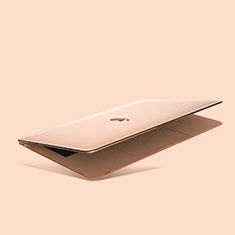 Funda Dura Plastico Rigida Carcasa Mate M03 para Apple MacBook Air 13 pulgadas (2020) Oro