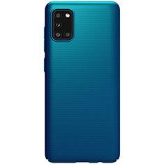 Funda Dura Plastico Rigida Carcasa Mate M03 para Samsung Galaxy A31 Azul