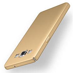 Funda Dura Plastico Rigida Carcasa Mate M03 para Samsung Galaxy A5 Duos SM-500F Oro