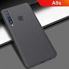 Funda Dura Plastico Rigida Carcasa Mate M03 para Samsung Galaxy A9s Negro