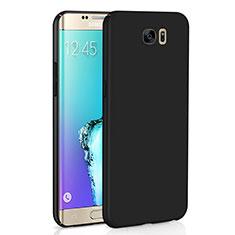 Funda Dura Plastico Rigida Carcasa Mate M03 para Samsung Galaxy S6 Edge SM-G925 Negro